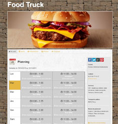 foodtruck theme