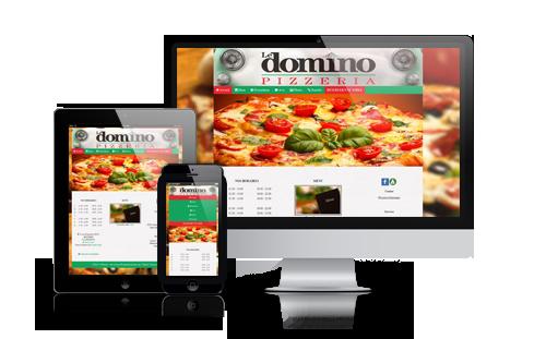 site mobile pizza